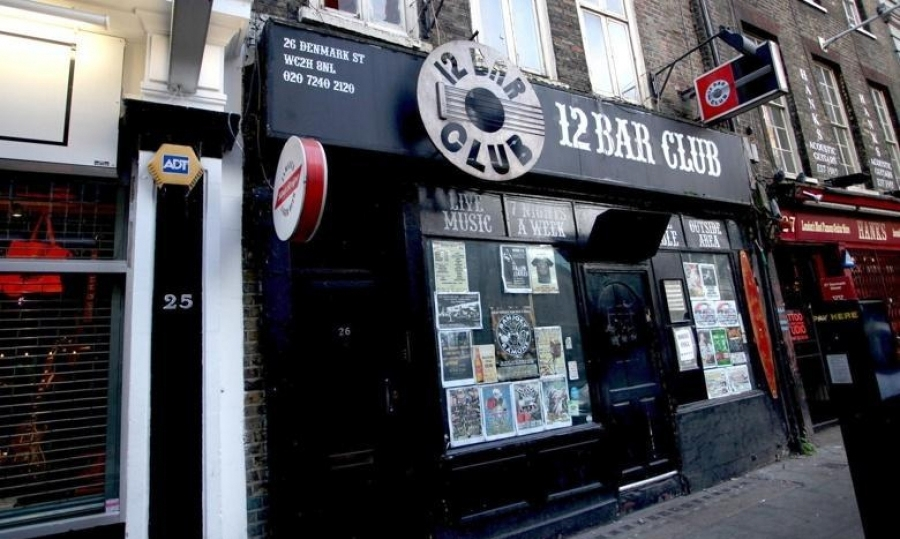 The Twelve Bar Club on Denmark Street, in Central London, which is due to be closed down, has hosted many rock legends since the seventies